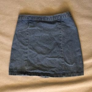 Brandy Melville Skirts - Brandy Melville A-Line Jean Skirt